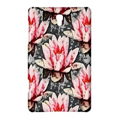 Water Lily Background Pattern Samsung Galaxy Tab S (8 4 ) Hardshell Case