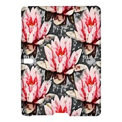 Water Lily Background Pattern Samsung Galaxy Tab S (10 5 ) Hardshell Case