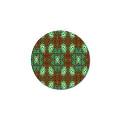 Art Design Template Decoration Golf Ball Marker (10 Pack)
