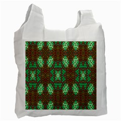 Art Design Template Decoration Recycle Bag (one Side)