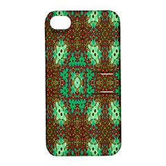Art Design Template Decoration Apple Iphone 4/4s Hardshell Case With Stand