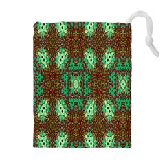 Art Design Template Decoration Drawstring Pouches (extra Large)