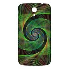 Green Spiral Fractal Wired Samsung Galaxy Mega I9200 Hardshell Back Case