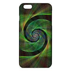 Green Spiral Fractal Wired Iphone 6 Plus/6s Plus Tpu Case