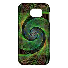 Green Spiral Fractal Wired Galaxy S6