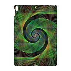 Green Spiral Fractal Wired Apple Ipad Pro 10 5   Hardshell Case