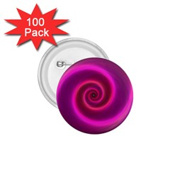 Pink Background Neon Neon Light 1 75  Buttons (100 Pack)