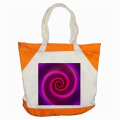 Pink Background Neon Neon Light Accent Tote Bag