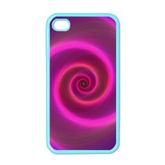 Pink Background Neon Neon Light Apple Iphone 4 Case (color)