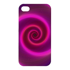 Pink Background Neon Neon Light Apple Iphone 4/4s Premium Hardshell Case