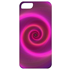 Pink Background Neon Neon Light Apple Iphone 5 Classic Hardshell Case