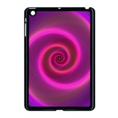 Pink Background Neon Neon Light Apple Ipad Mini Case (black)