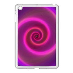 Pink Background Neon Neon Light Apple Ipad Mini Case (white)