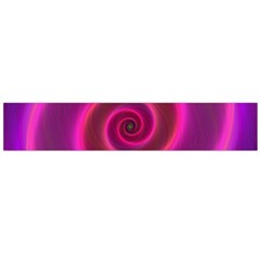 Pink Background Neon Neon Light Flano Scarf (large)