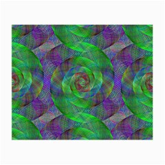 Fractal Spiral Swirl Pattern Small Glasses Cloth (2 Side)