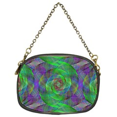 Fractal Spiral Swirl Pattern Chain Purses (one Side)