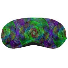 Fractal Spiral Swirl Pattern Sleeping Masks