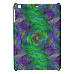 Fractal Spiral Swirl Pattern Apple Ipad Mini Hardshell Case