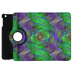 Fractal Spiral Swirl Pattern Apple Ipad Mini Flip 360 Case