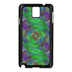 Fractal Spiral Swirl Pattern Samsung Galaxy Note 3 N9005 Case (black)