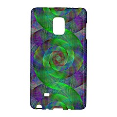 Fractal Spiral Swirl Pattern Galaxy Note Edge