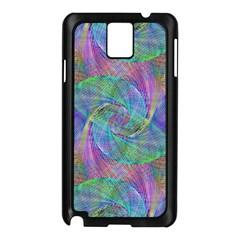Spiral Pattern Swirl Pattern Samsung Galaxy Note 3 N9005 Case (black)