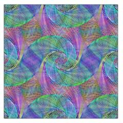 Spiral Pattern Swirl Pattern Large Satin Scarf (square)
