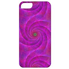 Pink Abstract Background Curl Apple Iphone 5 Classic Hardshell Case