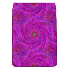 Pink Abstract Background Curl Flap Covers (l)