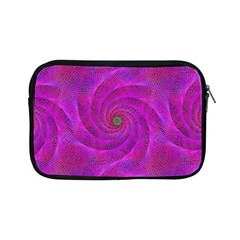 Pink Abstract Background Curl Apple Ipad Mini Zipper Cases