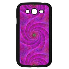 Pink Abstract Background Curl Samsung Galaxy Grand Duos I9082 Case (black)
