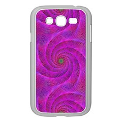 Pink Abstract Background Curl Samsung Galaxy Grand Duos I9082 Case (white)