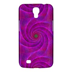Pink Abstract Background Curl Samsung Galaxy Mega 6 3  I9200 Hardshell Case