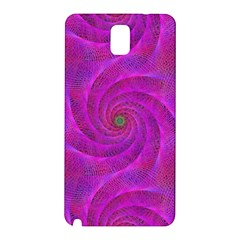 Pink Abstract Background Curl Samsung Galaxy Note 3 N9005 Hardshell Back Case