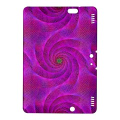 Pink Abstract Background Curl Kindle Fire Hdx 8 9  Hardshell Case