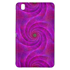 Pink Abstract Background Curl Samsung Galaxy Tab Pro 8 4 Hardshell Case