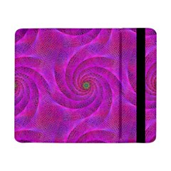 Pink Abstract Background Curl Samsung Galaxy Tab Pro 8 4  Flip Case