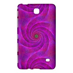 Pink Abstract Background Curl Samsung Galaxy Tab 4 (7 ) Hardshell Case