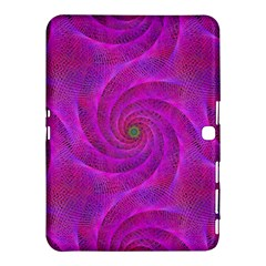 Pink Abstract Background Curl Samsung Galaxy Tab 4 (10 1 ) Hardshell Case