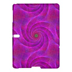 Pink Abstract Background Curl Samsung Galaxy Tab S (10 5 ) Hardshell Case
