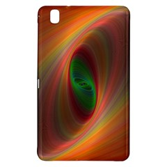 Ellipse Fractal Orange Background Samsung Galaxy Tab Pro 8 4 Hardshell Case