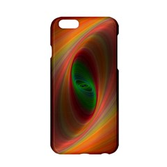 Ellipse Fractal Orange Background Apple Iphone 6/6s Hardshell Case