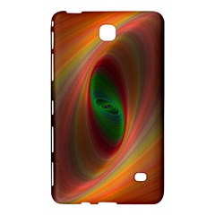 Ellipse Fractal Orange Background Samsung Galaxy Tab 4 (8 ) Hardshell Case