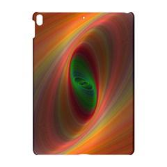 Ellipse Fractal Orange Background Apple Ipad Pro 10 5   Hardshell Case