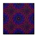 Pattern Seamless Repeat Spiral Tile Coasters Front