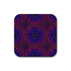 Pattern Seamless Repeat Spiral Rubber Coaster (square)