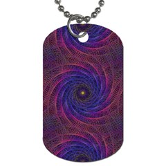 Pattern Seamless Repeat Spiral Dog Tag (two Sides)