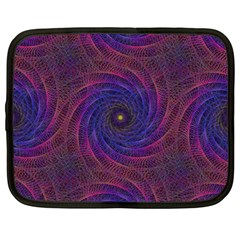 Pattern Seamless Repeat Spiral Netbook Case (large)