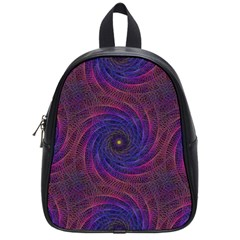Pattern Seamless Repeat Spiral School Bag (small)