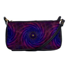 Pattern Seamless Repeat Spiral Shoulder Clutch Bags